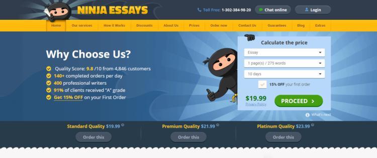 NinjaEssays.com Review